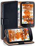 MoEx Book-style flip case compatible with Alcatel One Touch