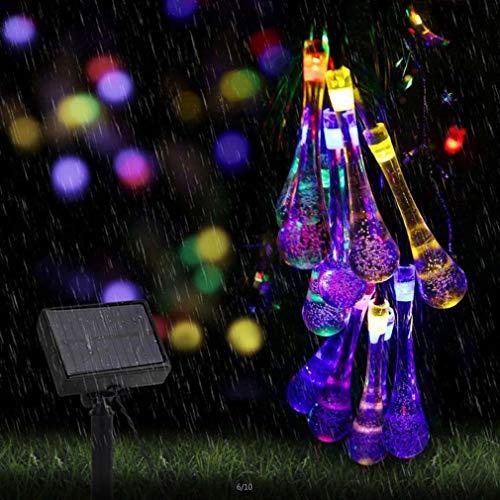 Solar Fairy Lights,Garden Ornaments Outdoor,Solar Lights Outdoor Garden,20 LED 15ft/4.8m 8 Modes Waterproof Solar String Lights for Trees Patio Lawn Backyard Landscape Fence Wedding Party Decor