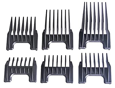 Moser Wahl Ermila Comb Set (6 Pieces) 3-25 mm