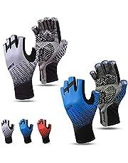 2021 JORAGO Sports Cycling Gloves Half-Finger Bicycle Gloves 2-Pair
