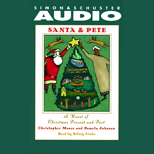 Santa & Pete audiobook cover art