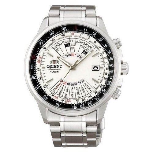 Orient Reloj Analógico para Hombre de Automático con Correa en Acero Inoxidable FEU07005WX