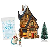 Department 56 Dickens Village Tily's Boiled Sweets Lit Building and Accessories, 8.25', Multicolor