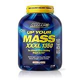 Maximum Human Performance MHP UYM XXXL 1350 Mass Building Weight Gainer, Muscle Mass Gains, w/50g Protein, High Calories, 11g BCAAs, Leucine, Cookies & Cream, 8 Servings, 6lb