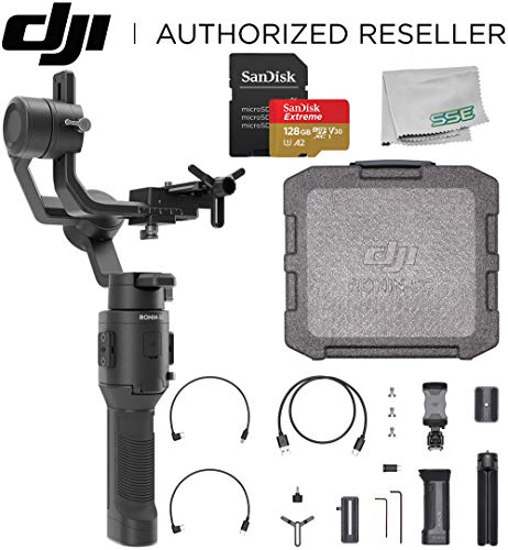 DJI 2019 Ronin-SC Compact Stabilizer 3-Axis Gimbal Handheld Stabilizer (Loki) for Mirrorless Camera Starters Bundle - CP.RN.00000040.01