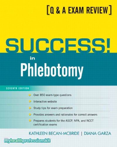Success! in Phlebotomy (7th Edition)