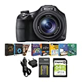 Sony Cyber-shot DSC-HX400 Digital Camera (Black) with 16GB Accessory Bundle