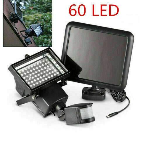 LED zonnelicht zonnelicht buiten zonnepaneel Spotlight Motion Detector 60 LED zonnelampen