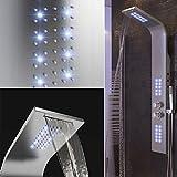 Panel de Ducha,Temperatura Constante,Luces LED púrpuras, Ducha de...