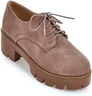 BalaMasa Womens APL12165 Pu Platform Heels