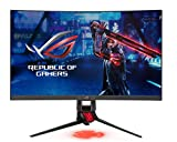 ASUS ROG XG27WQ - Monitor curvo Gaming de 27' WQHD (2560 x 1440, 165 Hz, 1 ms, 450 cd/m2, VA, Display Port, 2 HDMI y 2 USB 3.0, AMD FreeSync Premium Pro - ELMB - Display HDR 400) Negro