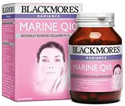 Blackmores Radiance Marine Q10, Marine Fish Protein Extract Combined with Coenzyme Q10 60 Caps.