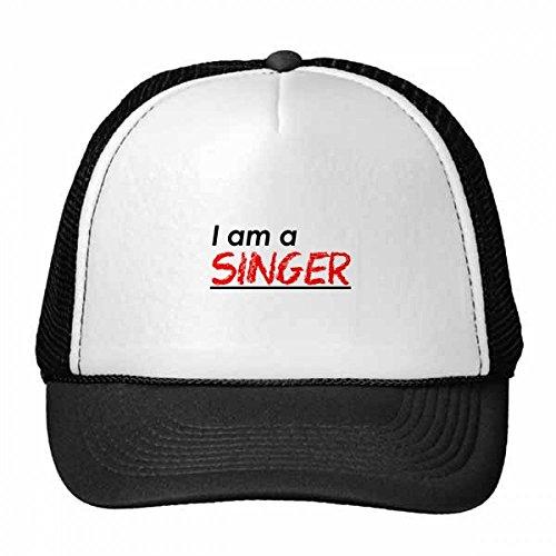 DIYthinker Zitat Ich Bin Ein Sänger Trucker-Mütze Baseballmütze Nylon Mütze Kühle Kind-Hut-Justierbare Kappe Geschenk Erwachsene