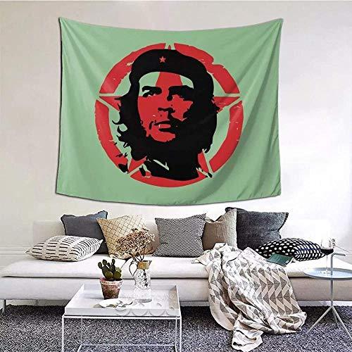 Tapiz Impresión 3D Che Guevara Revolución cubana Manta de cortina Cuba Socialismo cubano Libertad Pared Tejido de poliéster Manta de picnic Novedad