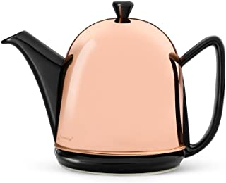 Bredemeijer Cosy 1510ZK Cosy Manto Teapot 1.0 Litres with Black Fittings