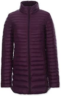 XFentech Women Oversize Down Jacket Winter Warm Long Sections Down Soft and Light Coat