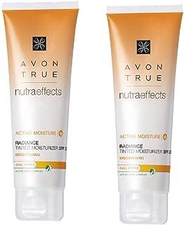 Avon 2 x Nutra Effects Radiance Tinted Moisturiser SPF 20 50