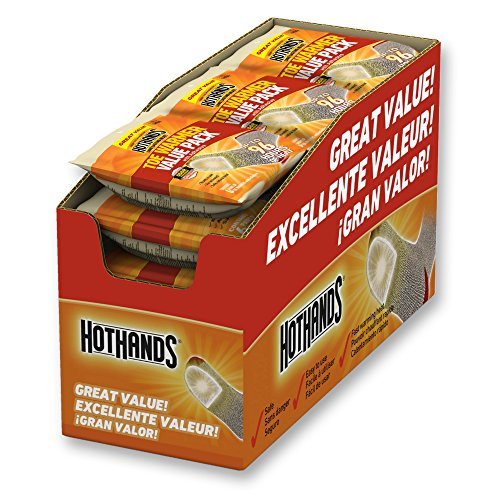HotHands Toe Warmers - Long Lasting Safe Natural Odorless Air Activated Warmers - Up to 8 Hours of Heat - 72 Pair