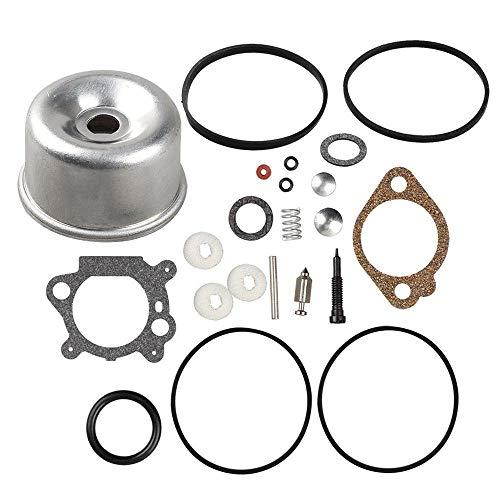 Euros Carburetor Intek Float Bowl Gasket Kit Overhaul Kit for 796611 493640 398191 498260 492495 493762 490937 398183 498261 20-141-1 20-141 Carb for 3.5 4HP Max Series Engine