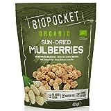 Biopocket - Moras ecológicas secas, 2 bolsas de 400 g
