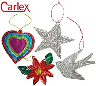 Carlex Mexican Tin Art Craft Kit (Makes 24)
