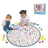 Brettspiel, Kartenspiel Kleiner Detektiv Tischspiel Familien Brettspiel Matching-Spiele Strategische Lernspielzeug für Kinder Kleinkinder 3,4,5,6,7 Jahre alt Jungen & Mädchen Geschenk