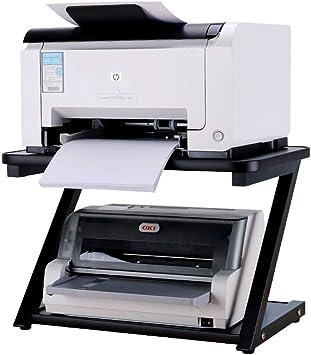 Alqn Impresora Soportes de escritorio Estante de impresora ...