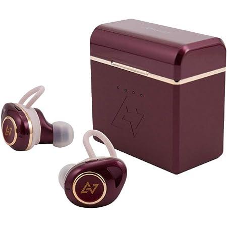 AVIOT TE-D01d mk2トゥルーワイヤレスイヤホン 完全ワイヤレス Bluetoothイヤホン (Dark Rouge)
