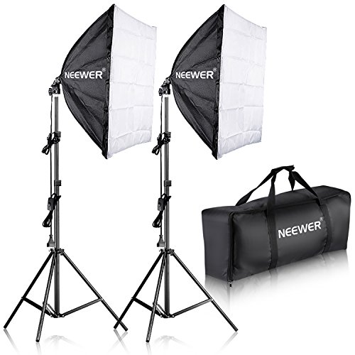 Neewer 700W 60x60cm Softbox con E27 Presa Elettrica Kit di...