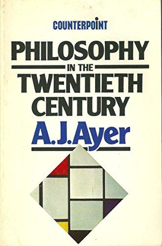 Philosophy in the Twentieth Century