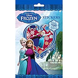 Disney Frozen Stickers - 700+ Perfect gift for any frozen fan! Anna, Elsa, Olaf and Sven Hundreds of stickers including letters and numbers Perfect for travelling Over 700 stickers Create tons of eye catching new looks to mix and match Customise your...