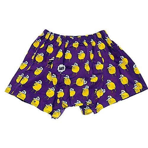 Cleptomanicx Zitrone purple Boxershort Größe XL
