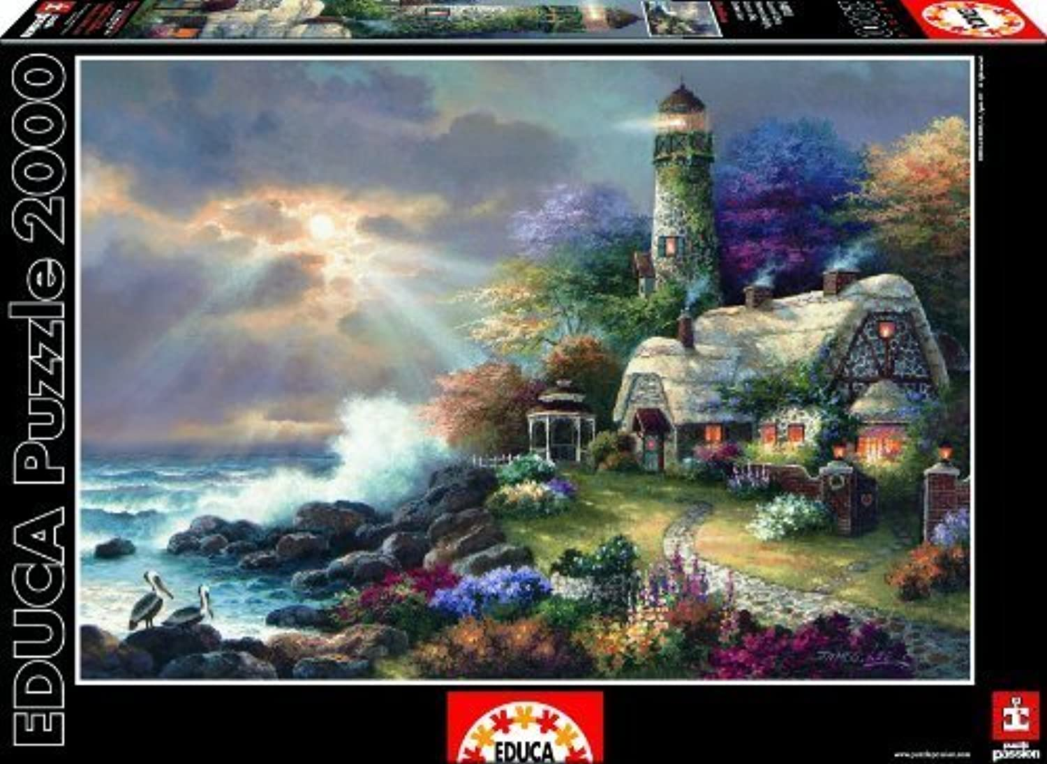 Educa Heaven'S Light Jigsaw Puzzle by Educa B01ASIT99Q Angemessener Preis  | Online Outlet Shop