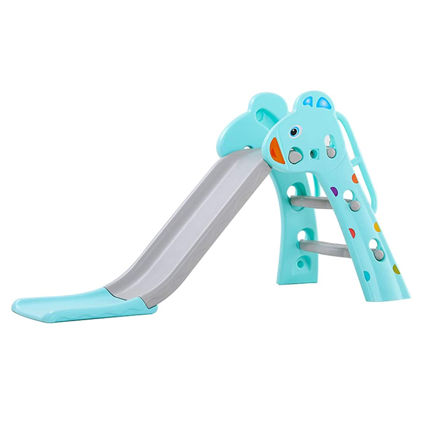 Foldable Toddler Slide, FOME Children Slides and Climbers Indoor Slide Kids Play Slide Easy Assembly Ideal for Indoor and Outdoor Play Perfect for Baby 12-36 Months Old