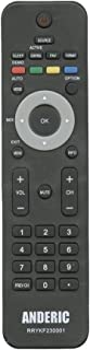 Anderic RRYKF230001 Compatible with Philips TV Remote Control - No Programming Required - 242254902301 313922852812 313923811291 996510012242 RC2023609/01B RC2033601/01 RC203360101
