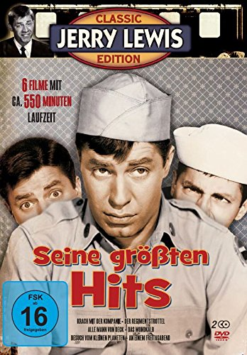 Jerry Lewis - Seine größten Hits [2 DVDs]