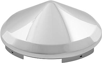 Grand General 10753 Chrome Universal Front Pin Wheel Hub Cap with 1 Lip
