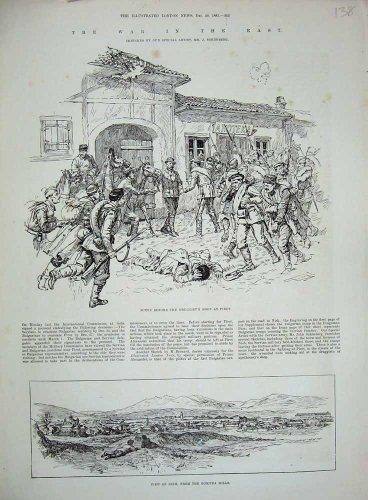 1885 Druggist'S Shop Pirot Nish Goritza Hills War East 138N727 del Negozio di Druggist'S Pirot Nish Goritza Hills War East 138