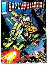 Comic Super Patriot #1 Book