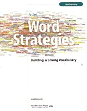 Best word strategies building a strong vocabulary Reviews