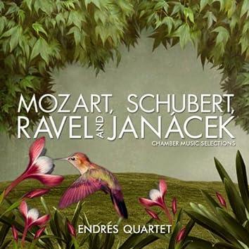 Mozart, Schubert, Ravel and Janácek: Chamber Music Selections