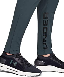 Under Armour Men's UA Storm Launch Linked Up Pants, Grey (Wire/Black/Reflective), Large