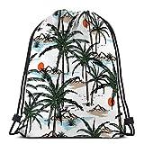 Mochila de Cuerdas Bolsa de Cuerda playa de la isla de verano playa de la isla de verano playa de la isla de verano playa de la isla de verano 36X43CM