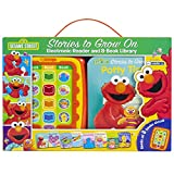 Sesame Street - Stories to Grow On Me Reader Jr Electronic Reader and 8 Sound Book Library - PI Kids