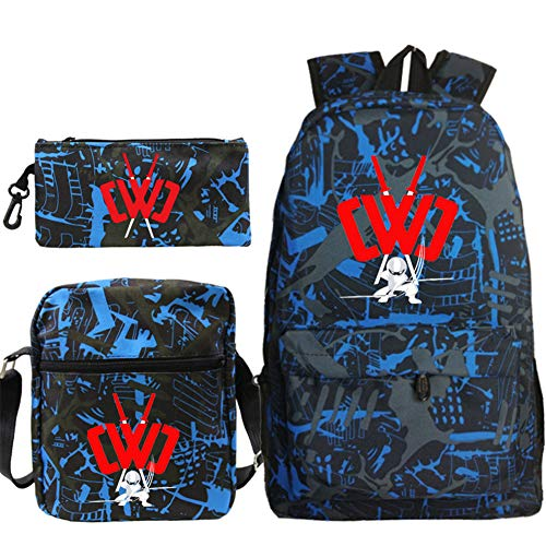 CWC Chad Wild Clay Bag Backpack School Bag Shoulder Bags Pencil Case (1)