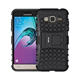 FETRIM Coque Galaxy J3, Galaxy J3 (2016) Coque, Armor Support Protection Étui,Anti...