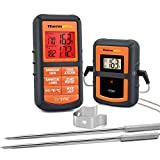 ThermoPro TP08S Wireless Digital Meat Thermometer for Grilling Smoker BBQ Grill Oven Thermometer