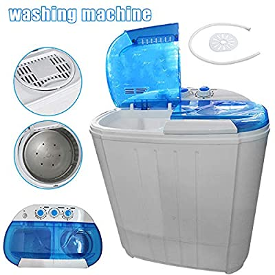 AMEOY Portable Washer and Dryer Mini Washing Machine Spin Dryer for Home Apartments,Delivery Within 3-9 Days