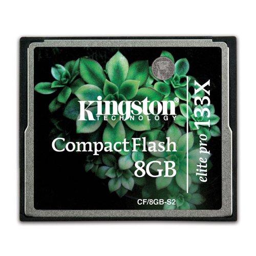 Kingston Compact Flash Elite PRO, 133x, 8 GB