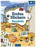 Erstes Stickern Baustelle: über 200 Sticker